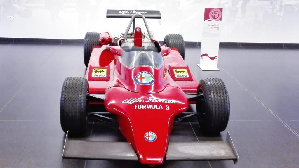 Formuła 3 - Timeline Alfa Romeo Museum