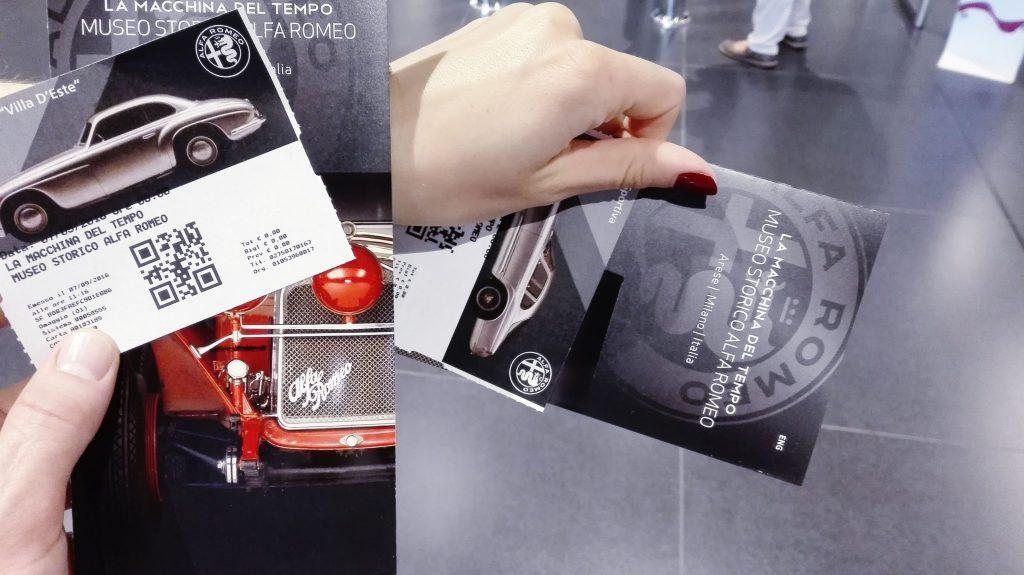 Bilety Museo Storico Alfa Romeo