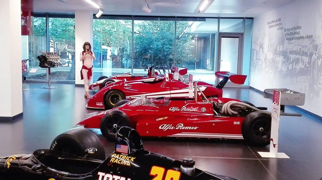 Bolidy Formuły - Timeline Alfa Romeo Museum