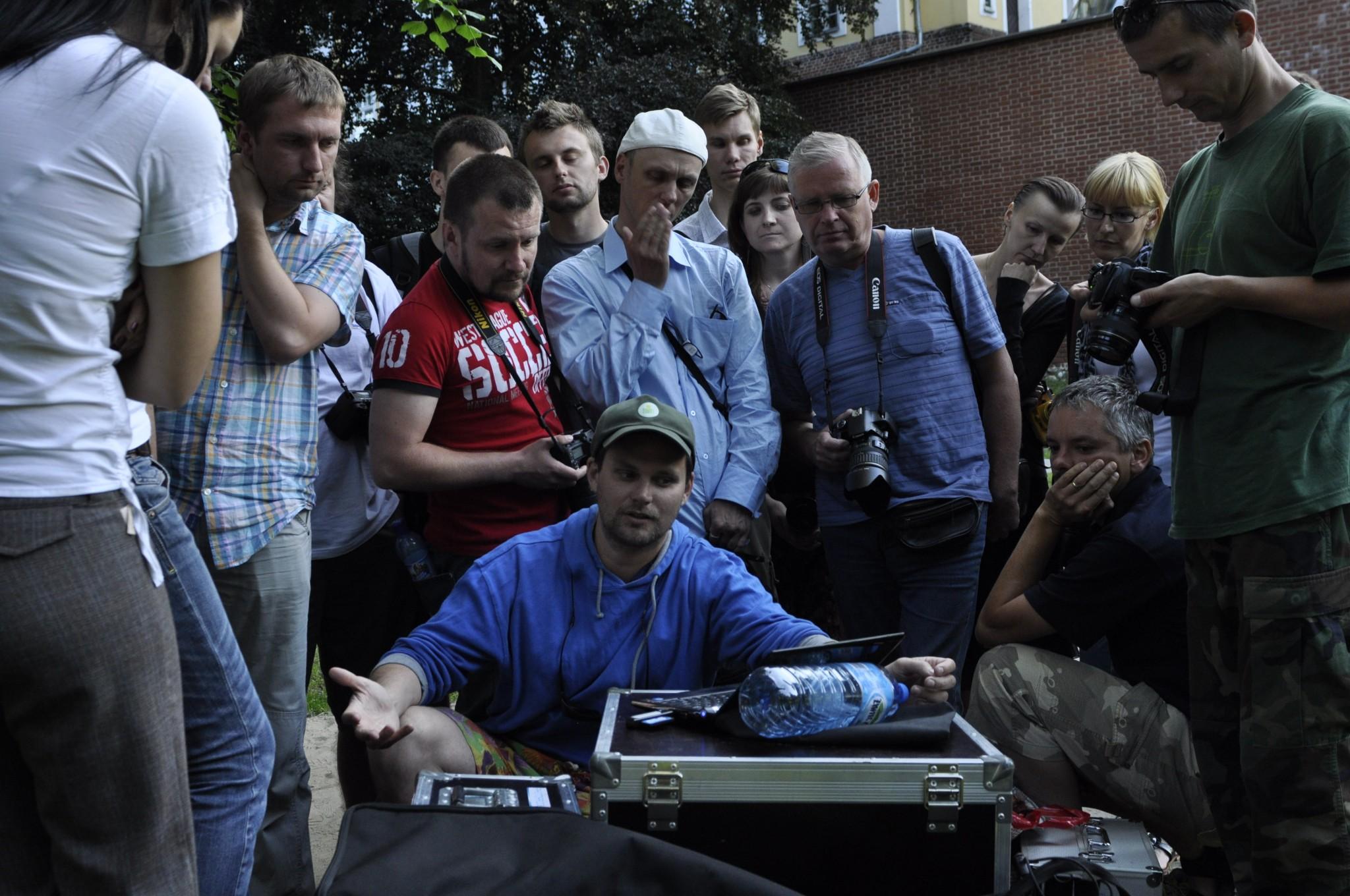 Fotomotif Festival 2010 Igor Omulecki warsztaty