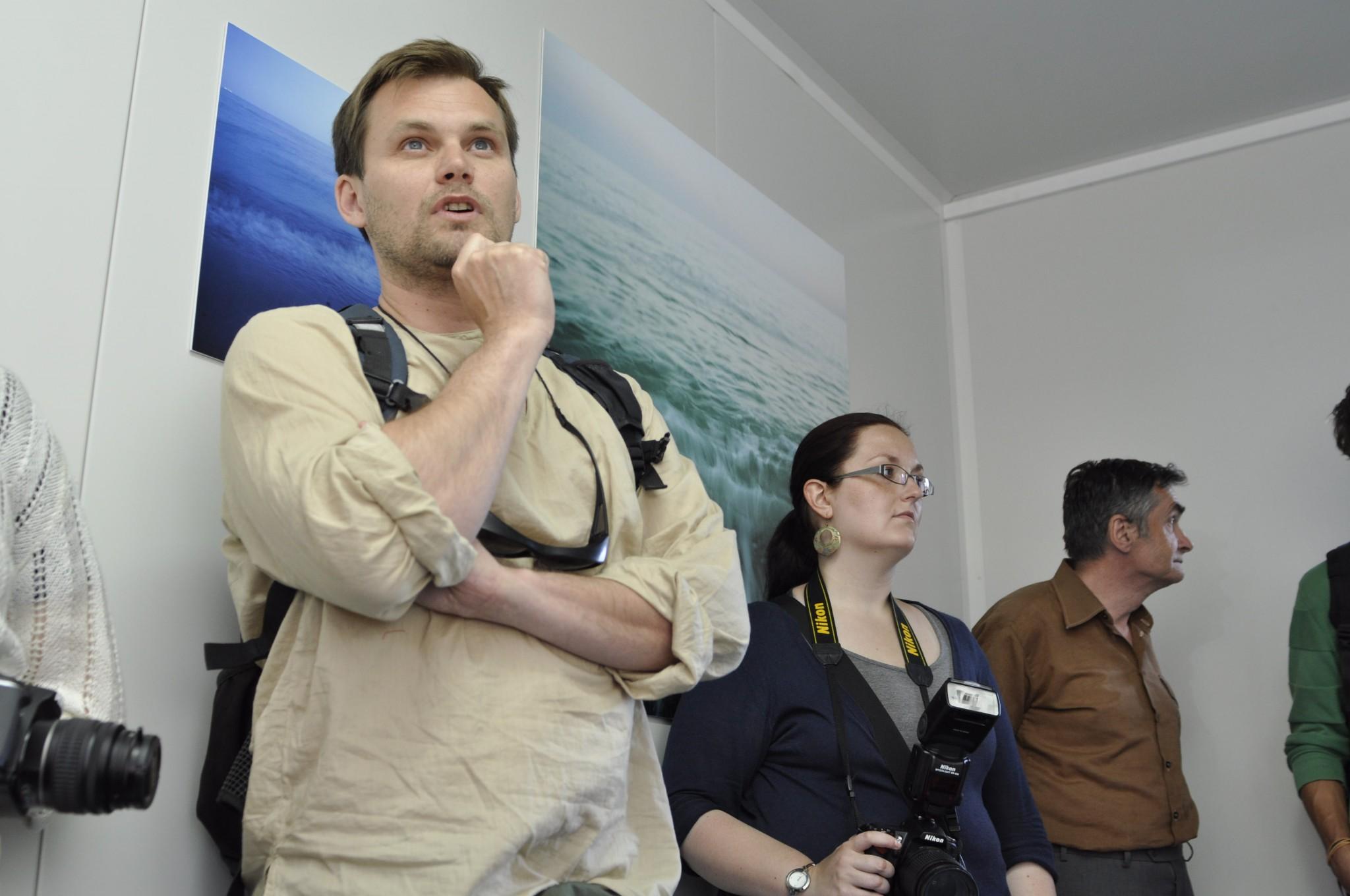 Fotomotif Festival 2010 Igor Omulecki wystawa w kontenerze
