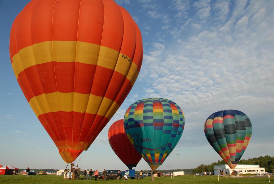 Fotomotif 2009 lotnisko balony