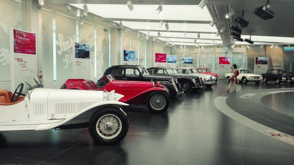 Timeline Museo Storico Alfa Romeo