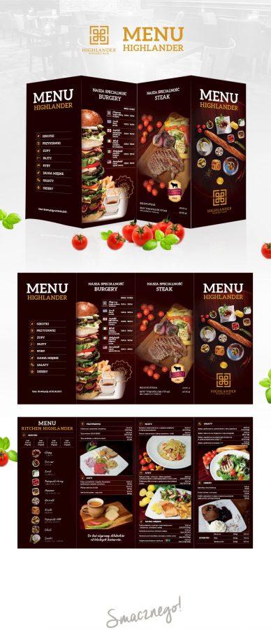 menu fotografia żywności reklamowa paweł staszak olsztyn